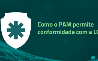 Como o PAM permite conformidade com a LGPD